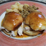 Honey Yeast Rolls + Hot Turkey Sliders {Gastropost Mission #20: Bonus Mission}