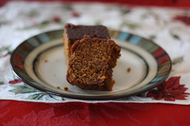 Orange Gingerbread Cake
