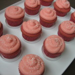 Pink Princess Cupcakes + Magic Wand Cookies