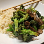 Sesame Beef & Broccoli + How to Cook Brown Rice